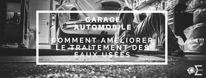 garage traitement eaux usees